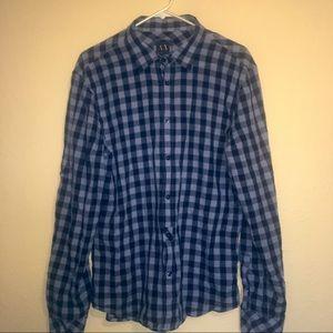 Armani Exchange Flannel